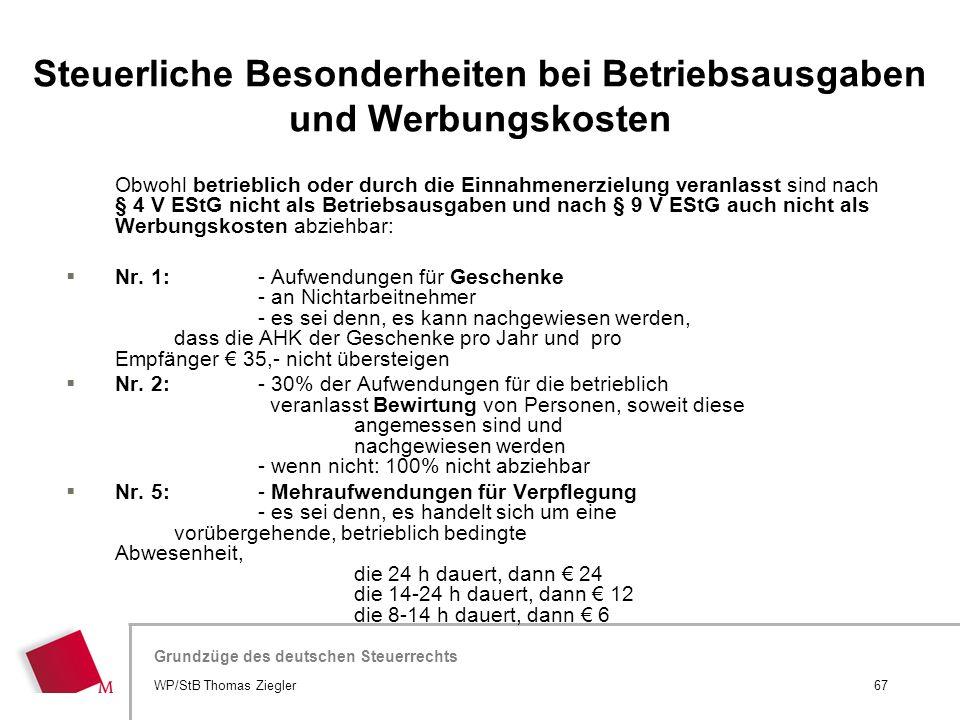 Hier wird der Titel der Präsentation wiederholt (Ansicht >Folienmaster) Grundzüge des deutschen Steuerrechts Obwohl betrieblich oder durch die Einnahm