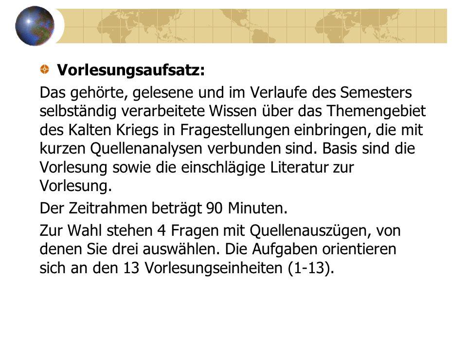 Literaturschwerpunkte: Dreyer Dietrich, Schweizer Kreuz und Sowjetstern.