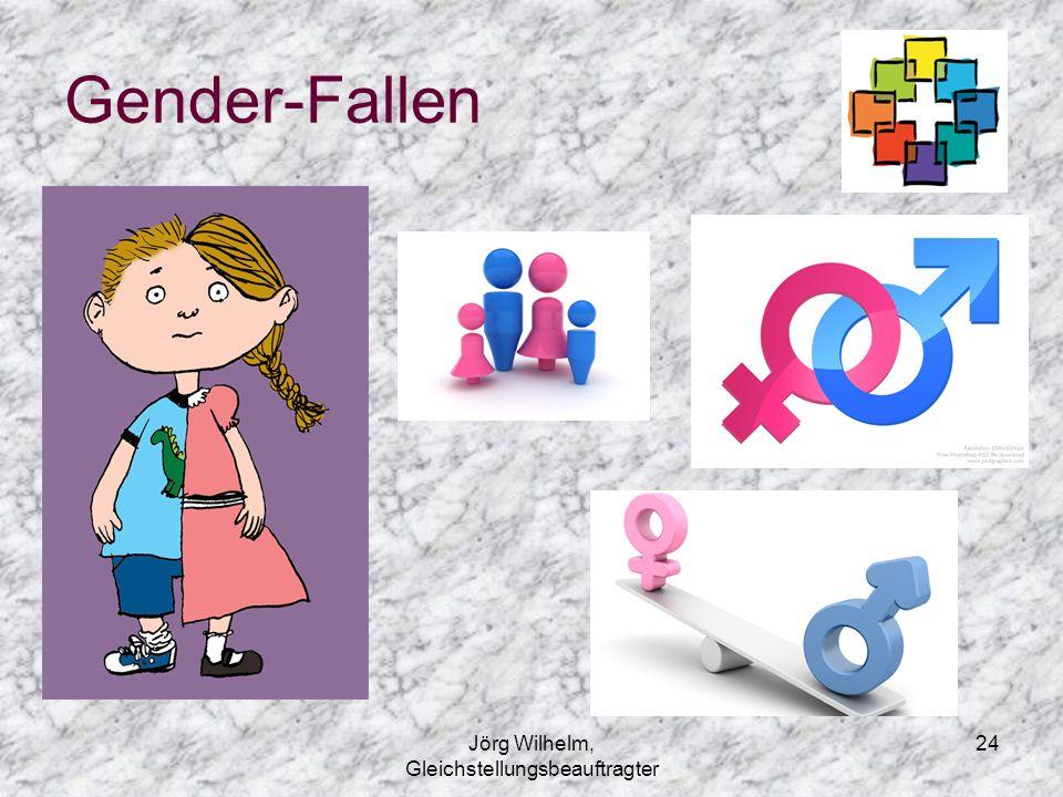 Jörg Wilhelm, Gleichstellungsbeauftragter 24 Gender-Fallen