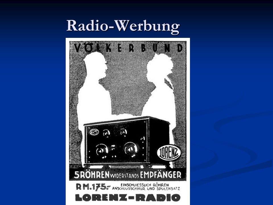 Radio-Werbung