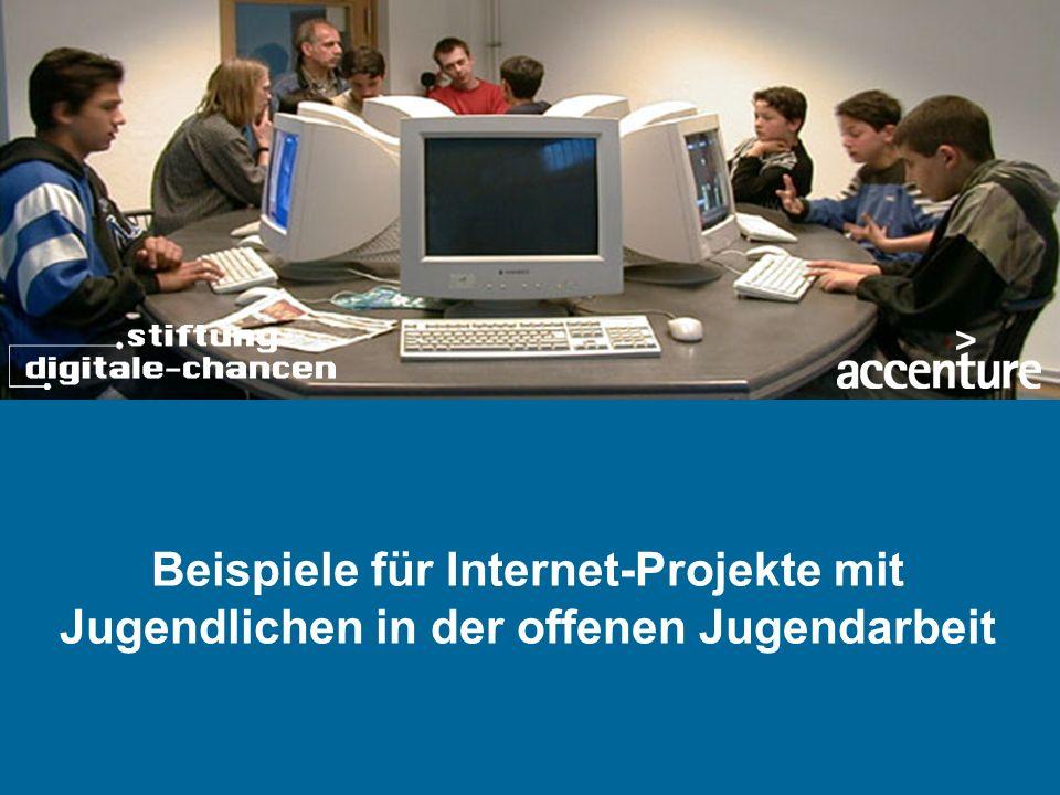 Beispiele für Internet-Projekte mit Jugendlichen in der offenen Jugendarbeit