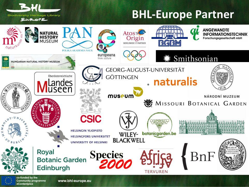 BHL-Europe Organisation