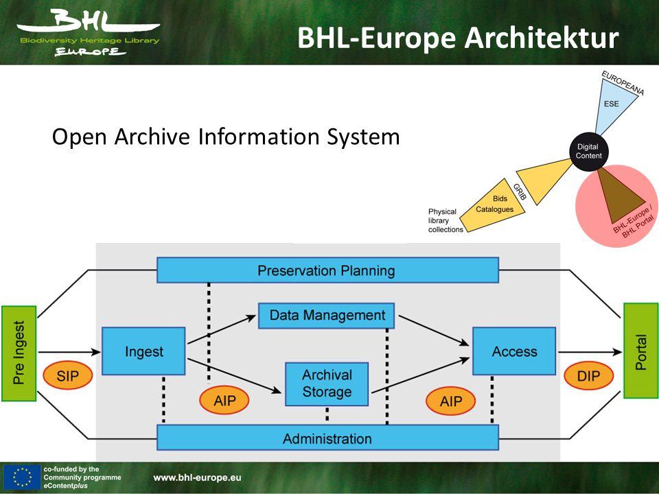 BHL-Europe Architektur