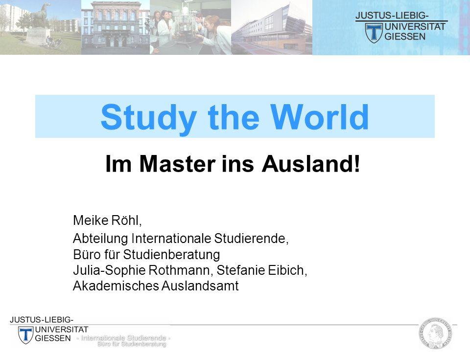 Im Master ins Ausland.