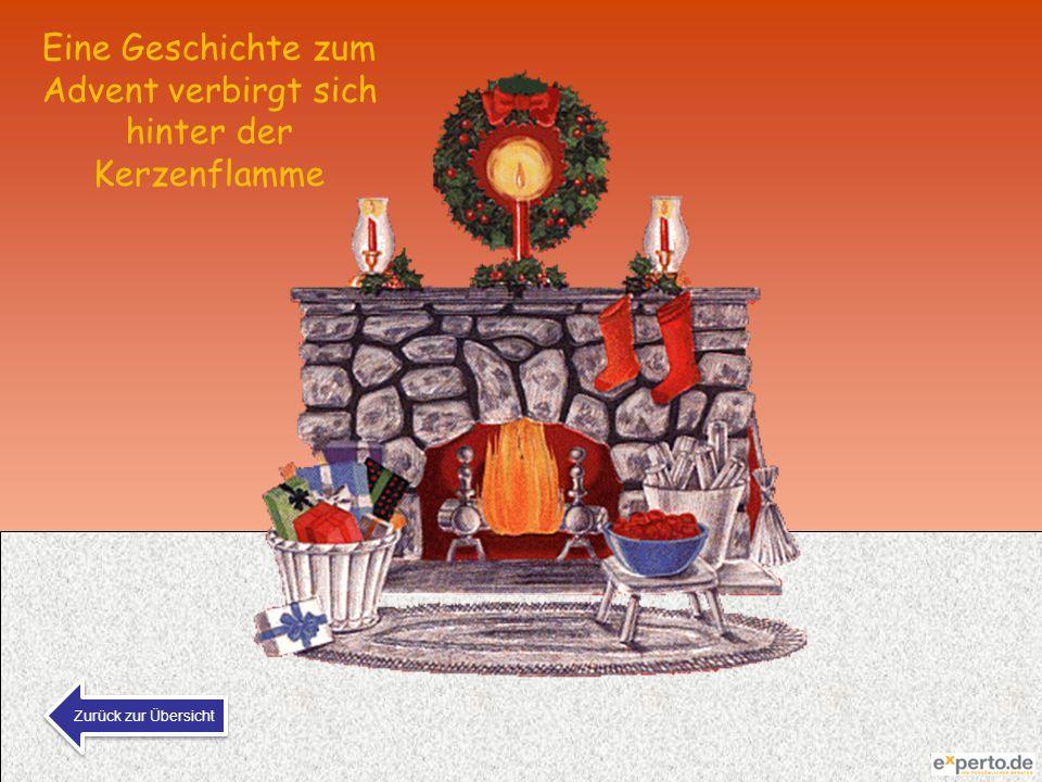 Eine Geschichte zum Advent verbirgt sich hinter der Kerzenflamme Zurück zur Übersicht