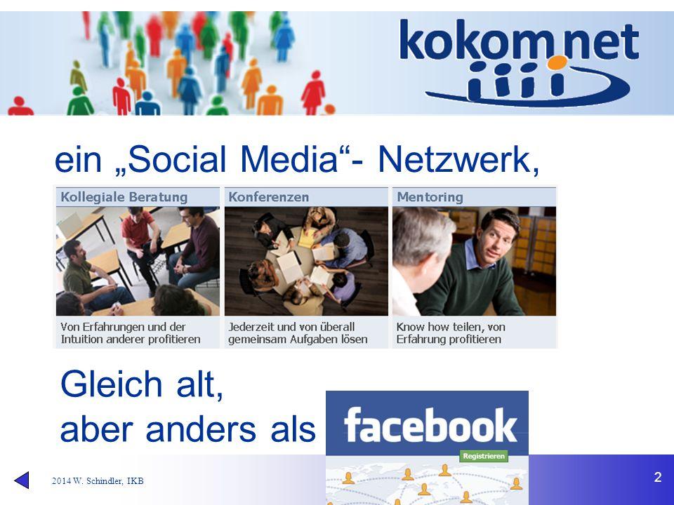 """2 ein """"Social Media""""- Netzwerk, Gleich alt, aber anders als"""