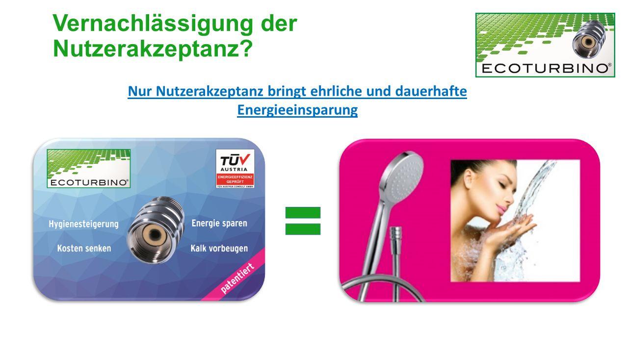 Hotel Sacher Wien ECOTURBINO ® Akzeptanz auch in den besten Häusern HOTEL KEMPINSKI WIEN Vernachlässigung der Nutzerakzeptanz?