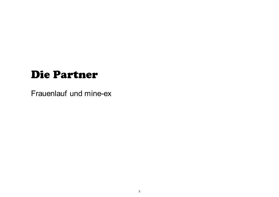 3 Die Partner Frauenlauf und mine-ex