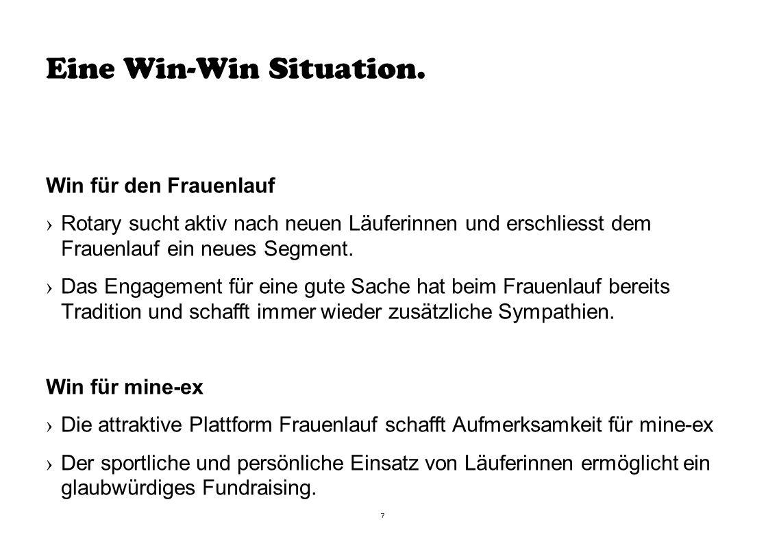 Eine Win-Win Situation.