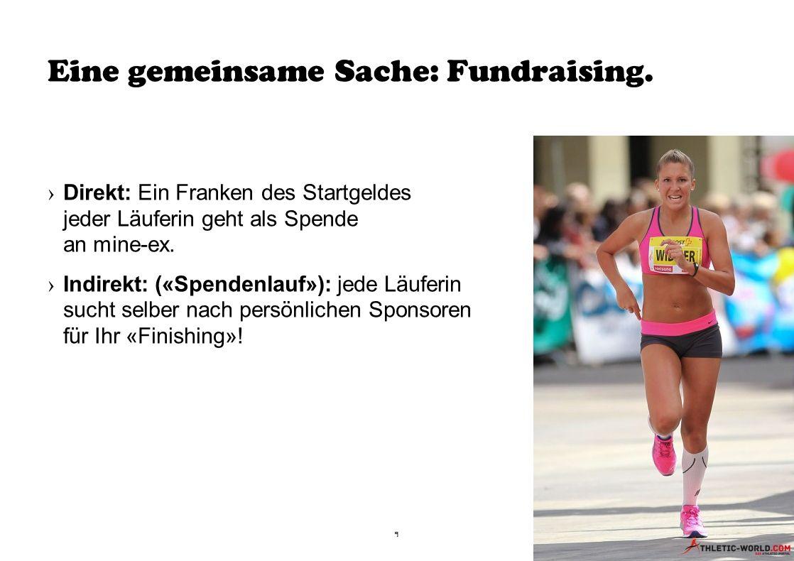 Eine gemeinsame Sache: Fundraising.