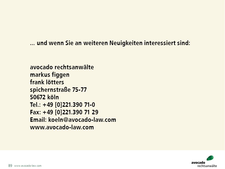 www.avocado-law.com 89...
