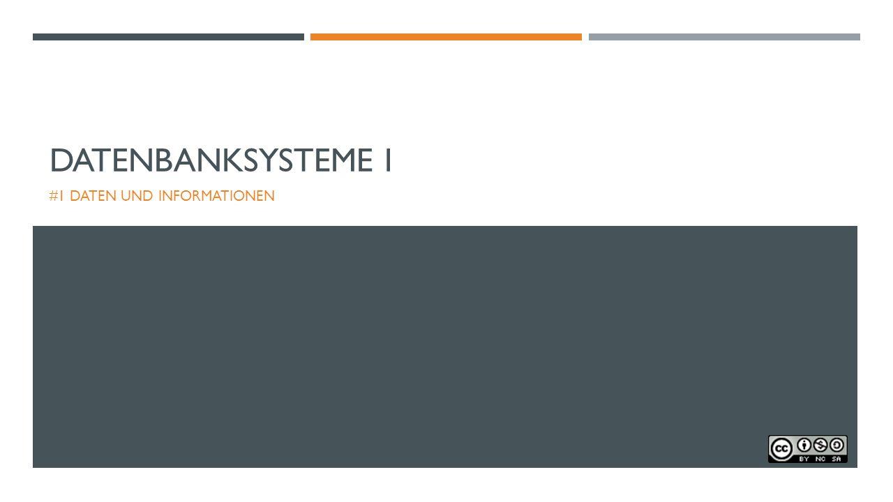 WEITER GEHT'S BEI MEBIS: AUFGABE 7 Grundlagen Datenbanksysteme/Aufgabe 9: Datenbank pflegen