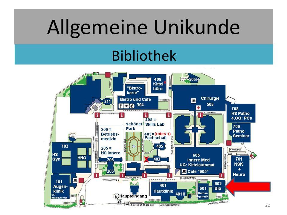 Allgemeine Unikunde Bibliothek 22