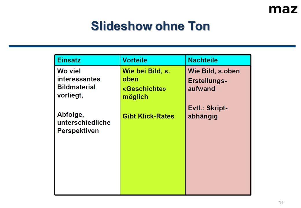 Slideshow ohne Ton 14