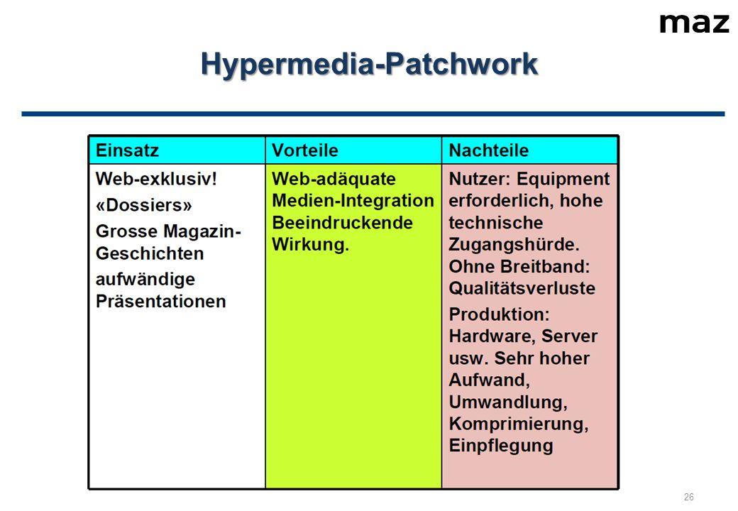 Hypermedia-Patchwork 26