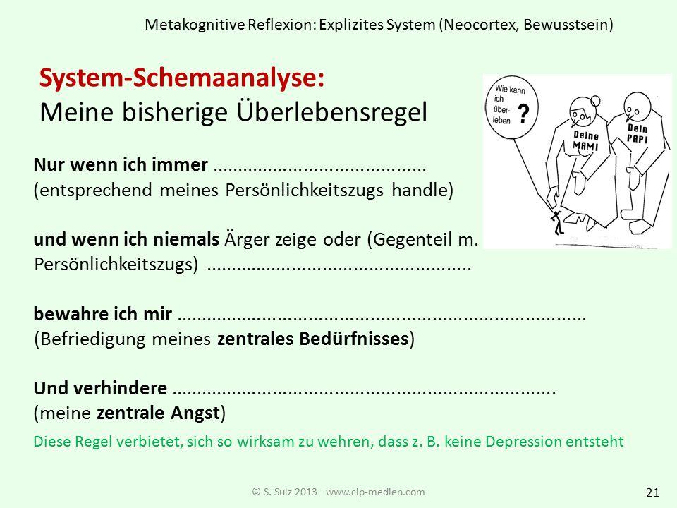 Persönlichkeitszüge angelehnt an ICD-10 © S. Sulz 2013 www.cip-medien.com 1. Zurückhaltend = selbstunsicher 2. Anpassungsbereit = dependent, keinen ei
