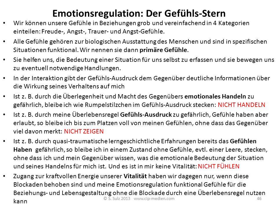 Der Gefühls-Stern: Vitale Pendelausschläge Welche Befriedigung? Vitalität Freude Trauer Ärger Angst Welche Frustration? Welcher Verlust? Welche Bedroh