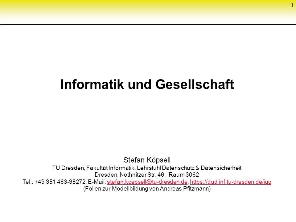 Technologie & Gesellschaft Visions of Technology , Texte von Daniela Cerqui aus FIDIS D12.2, http://www.fidis.net/fileadmin/fidis/deliverables/fidis- wp12-d12.2_Study_on_Emerging_AmI_Technologies.pdf Technological neutralism: technology is neutral, and only its use can be good or bad.