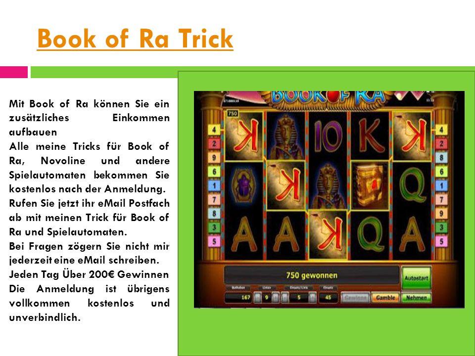 Book of Ra Tricks bookofratricks.eu