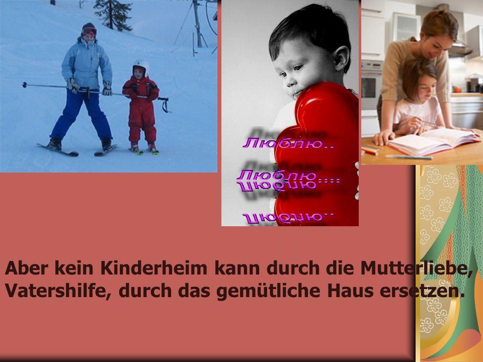 Etwa 100 000 Kinder werden in Russland jährlich Waisen.