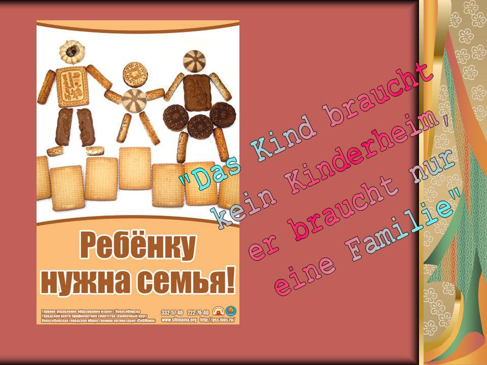 Aber kein Kinderheim kann durch die Mutterliebe, Vatershilfe, durch das gemütliche Haus ersetzen.