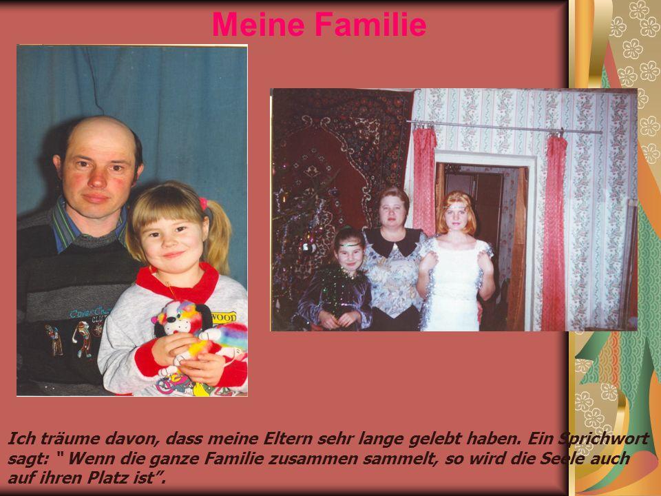 «Man braucht eine Familie um sich, um die nahen Verwandten zu kümmern»