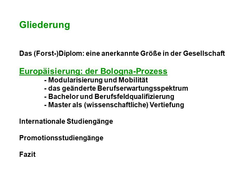 Vom Diplom- zum Bachelor/Master-System.