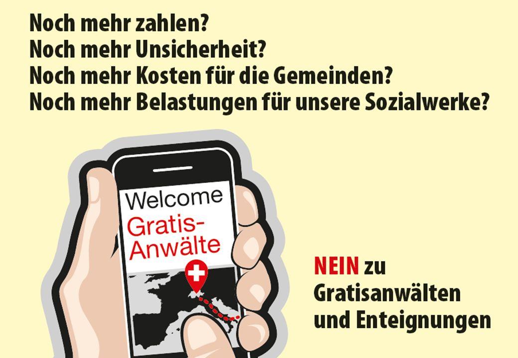 NEIN zur verantwortungslosen Willkommenskultur  Für illegale Wirtschafts- und Sozialmigranten ist die Schweiz nicht da.