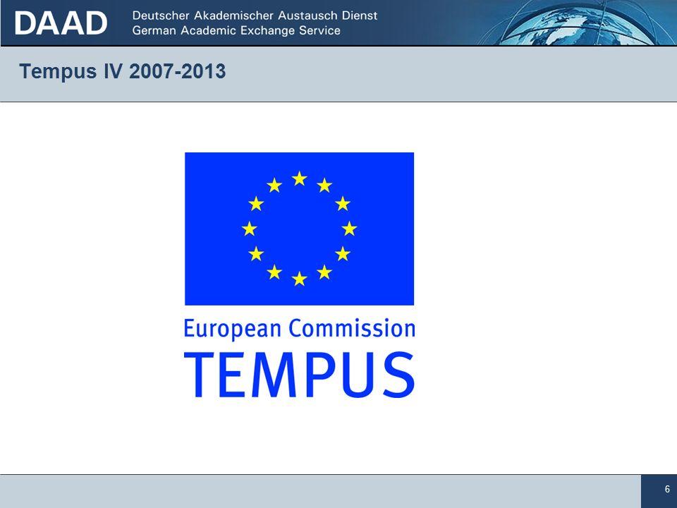 6 Tempus IV 2007-2013