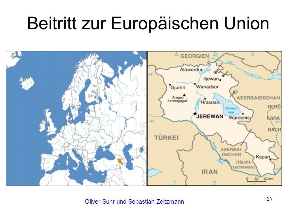 Oliver Suhr und Sebastian Zeitzmann 23 Beitritt zur Europäischen Union