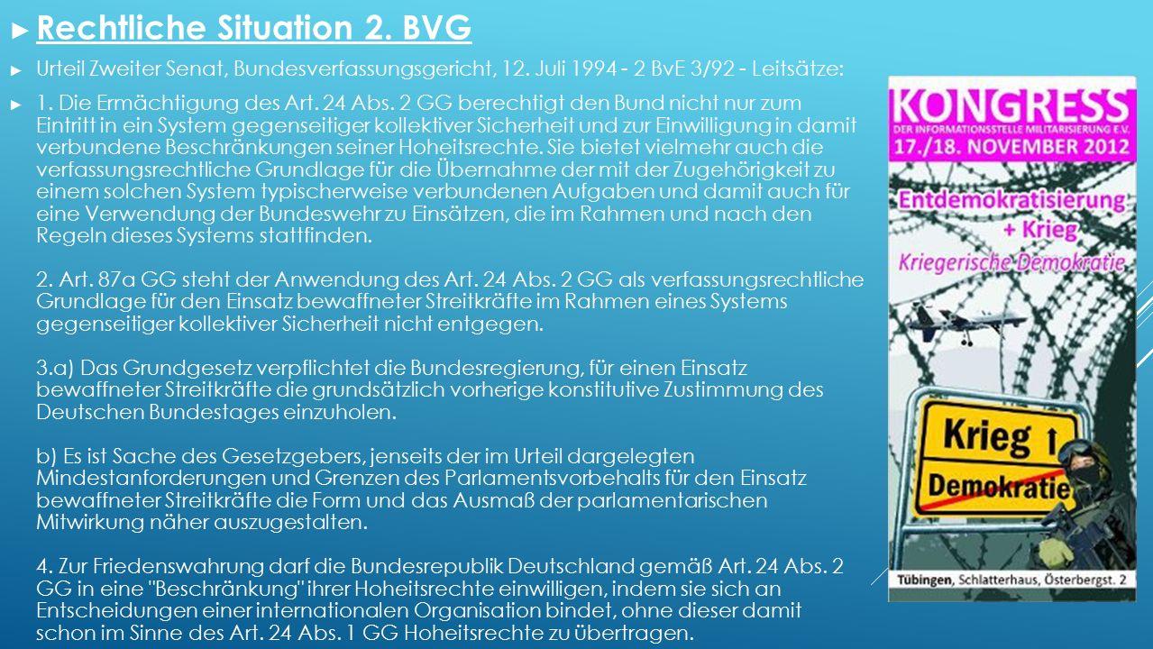 ► Rechtliche Situation 2. BVG ► Urteil Zweiter Senat, Bundesverfassungsgericht, 12.