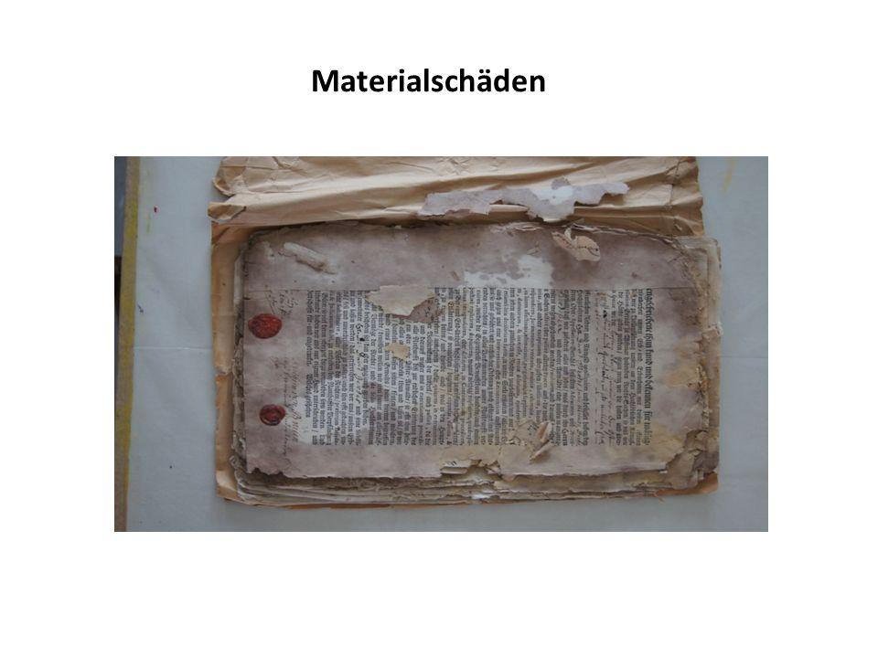 Materialschäden
