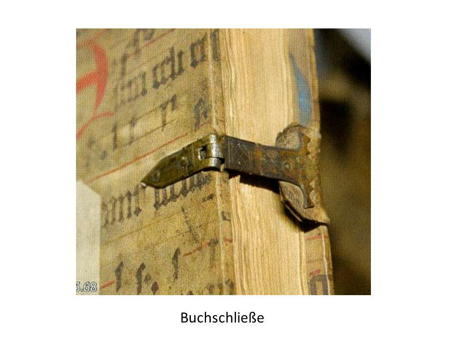 Buchschließe
