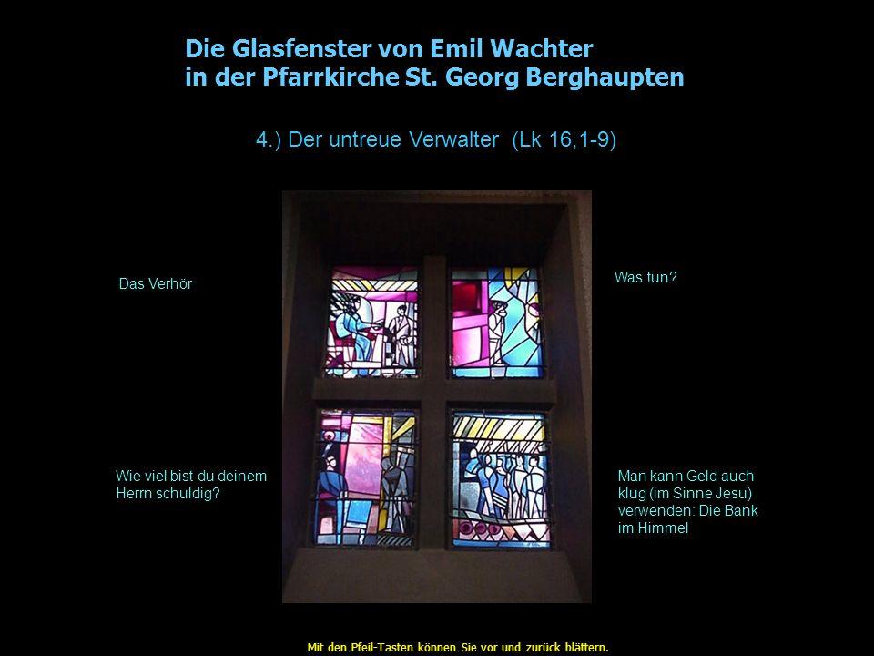 Die Glasfenster von Emil Wachter in der Pfarrkirche St.