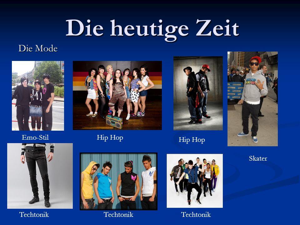 Die heutige Zeit Die Mode Emo-StilHip Hop Skater Techtonik