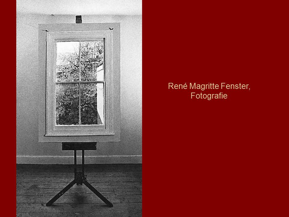 René Magritte Fenster, Fotografie
