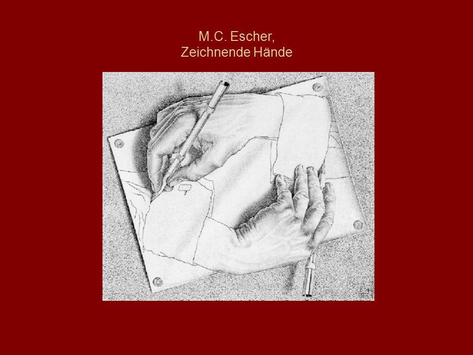 M.C. Escher, Zeichnende Hände