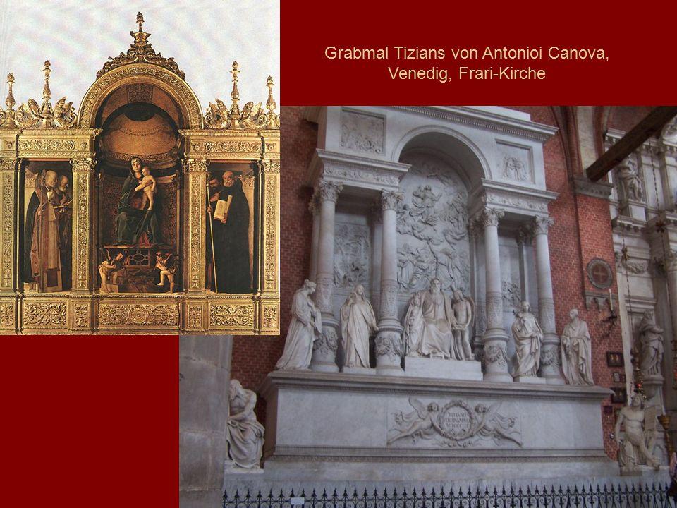 Grabmal Tizians von Antonioi Canova, Venedig, Frari-Kirche