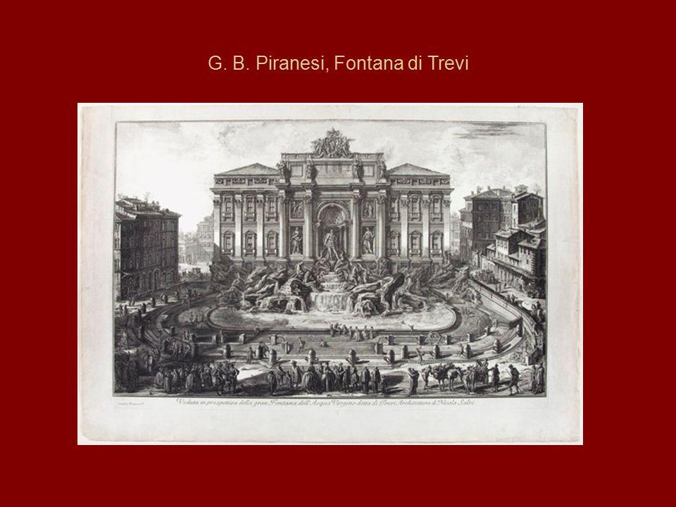 G. B. Piranesi, Fontana di Trevi