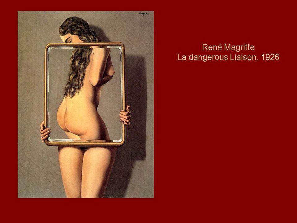 René Magritte La dangerous Liaison, 1926