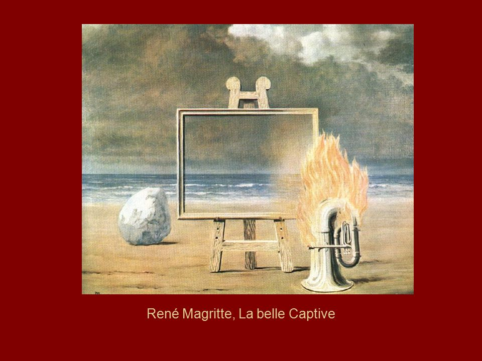 René Magritte, La belle Captive