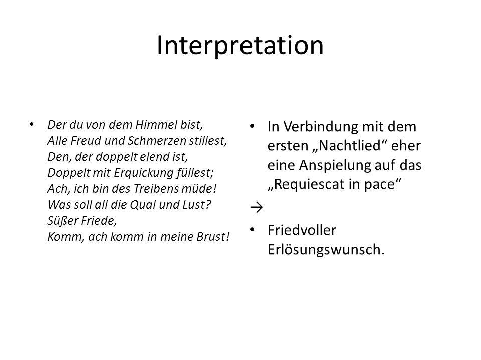 Gedichtanalyse-sprachlich Textvorlage GipfelWald Spürest kaum, Hauch, auch Du 1.