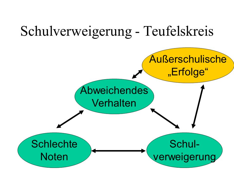 Unterschicht- familie Schul- verweigerung Wohn- umgebung Sprach- mängel Schul- struktur Mangelhafter Erziehungs- stil Schul- ferne Vorschul- struktur