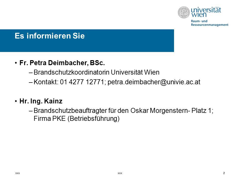 2 Fr. Petra Deimbacher, BSc.
