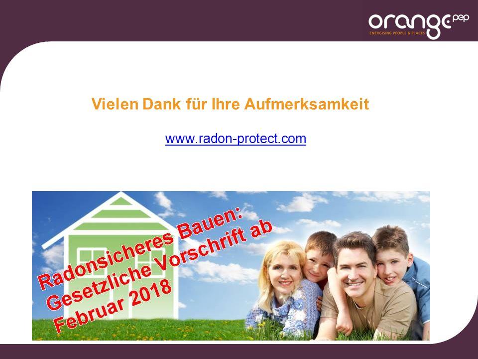 www.radon-protect.com Vielen Dank für Ihre Aufmerksamkeit