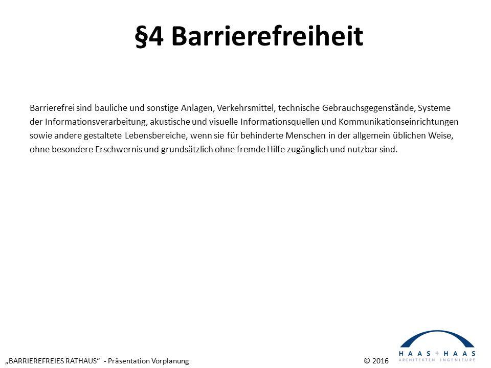 """""""BARRIEREFREIES RATHAUS - Präsentation Vorplanung © 2016 Außenansichten Aufzug"""