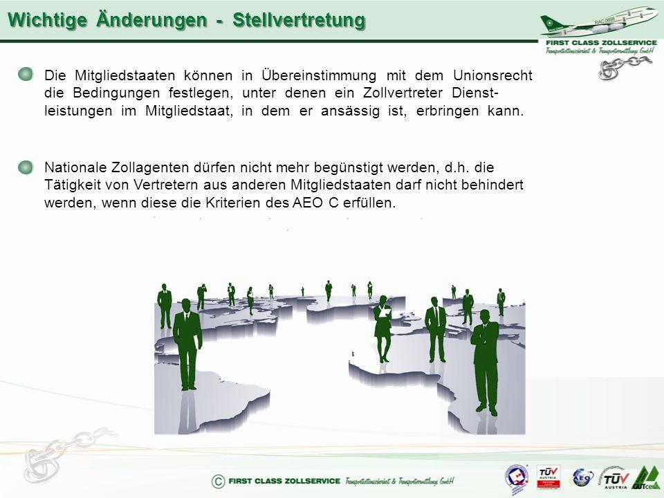 Die Mitgliedstaaten können in Übereinstimmung mit dem Unionsrecht die Bedingungen festlegen, unter denen ein Zollvertreter Dienst- leistungen im Mitgl