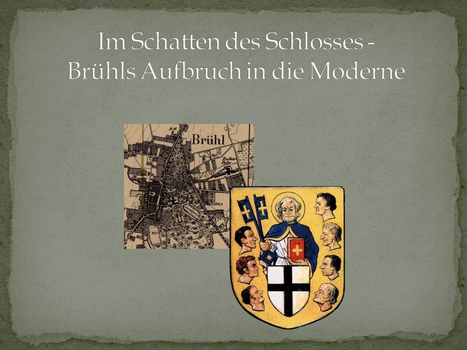 Das älteste Wohnhaus Brühls wurde 1530/1531 durch den kurfürstlichen Finanzminister W.