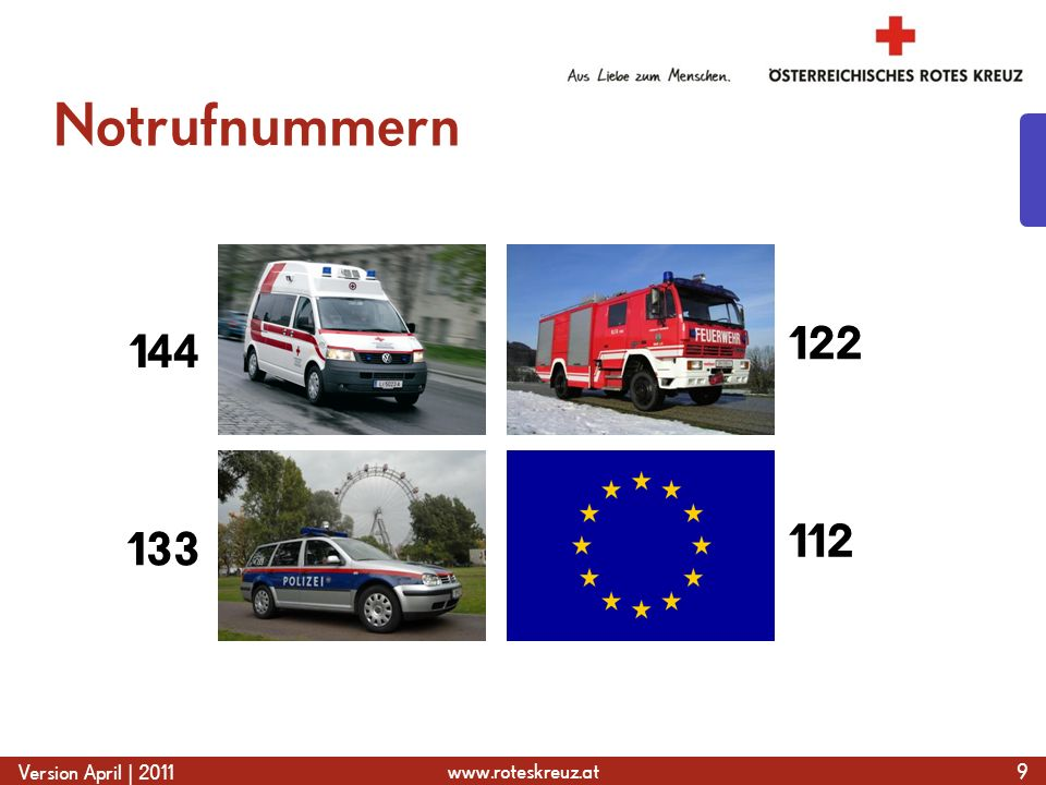 www.roteskreuz.at Version April | 2011 Handverband mit Dreiecktuch 80  Retuschieren, Foto von Infomedia