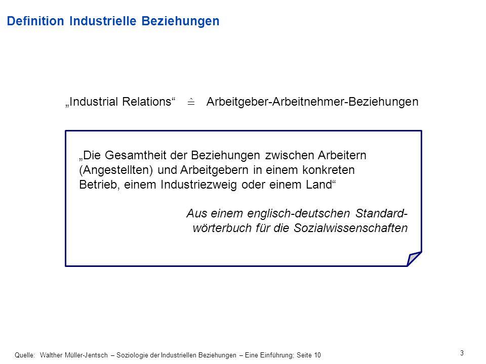34 Duales System BetriebsverfassungTarifautonomie BetriebsratManagementGewerkschaftArbeitgeberverb.